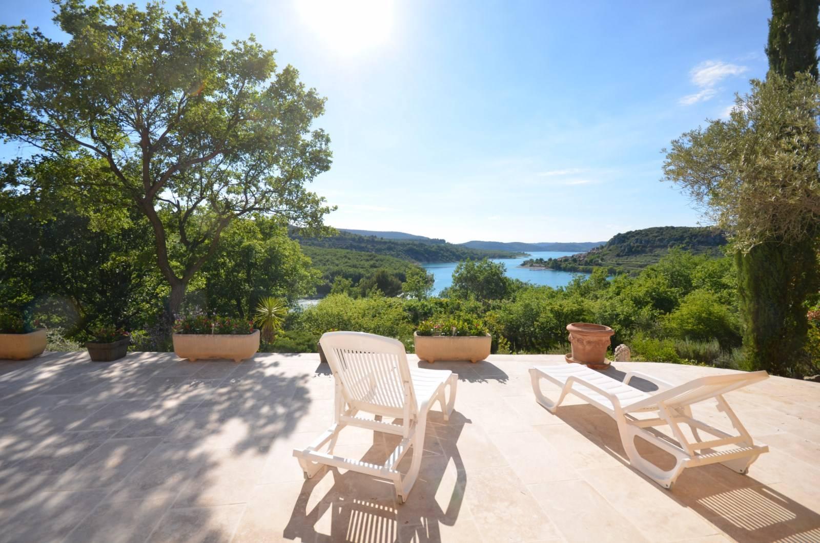 Vente Villa  T5 BAUDUEN Lac de Sainte-Croix, Parc Naturel Régional du Verdon VUE SUR LE LAC