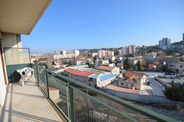 Vente Appartement T5 MARSEILLE 13EME ST JUST BELLES SURFACES - 5EME ETAGE - ASCENSEUR - TERRASSE 12m² - CAVE - PARKING - PROX. COMMODITES