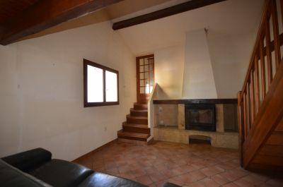 Salon- cheminée maison n° 2
