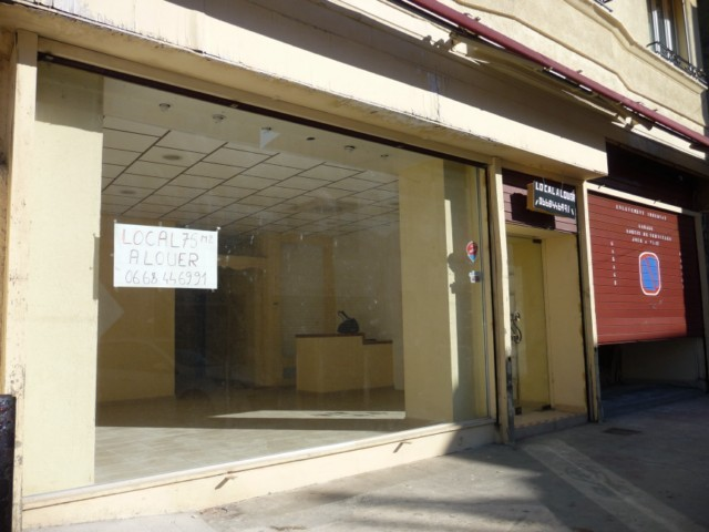 Location LOCAL PROFESSIONNEL MARSEILLE 13EME CHATEAU GOMBERT AU COEUR DU VILLAGE - LOCAL 75m² AU RDC