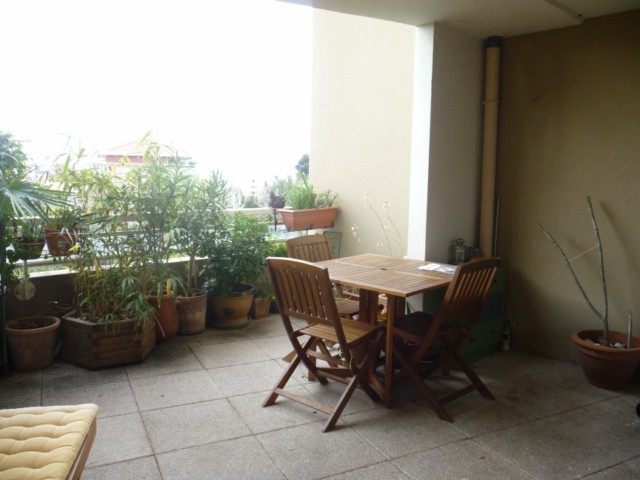 Location Appartement T2 MARSEILLE 12EME LA FOURRAGERE/ST JULIEN A LOUER - RESIDENCE FERMEE RECENTE - RDC SURELEVE - TERRASSE 21m² - PARKING - CAVE