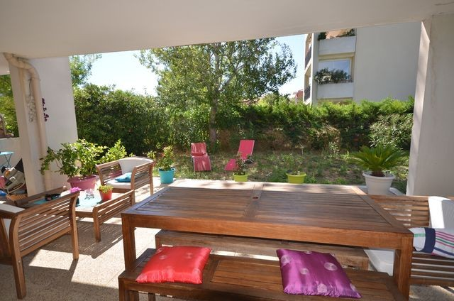 Location Appartement T2 MARSEILLE 13013 TECHNOPOLE CHATEAU GOMBERT  A LA LOCATION - RESIDENCE FERMEE RECENTE - JARDINET - TERRASSE -  GARAGE - PARKING