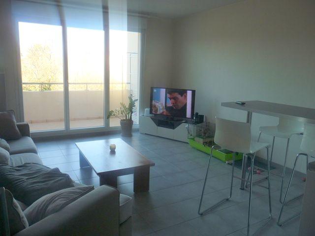 Location Appartement T3 MARSEILLE 13EME TECHNOPOLE CHATEAU GOMBERT  - A LOUER - RESIDENCE FERMEE RECENTE - 3EME ETAGE - ASCENSEUR - TERRASSE - PARKING - GARAGE DOUBLE