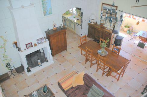 Vente Appartement T3 BAUDUEN VAR 83  VUE SUR LAC SAINTE CROIX - TERRASSE - GARAGE - CUISINE EQUIPEE - CHEMINEE
